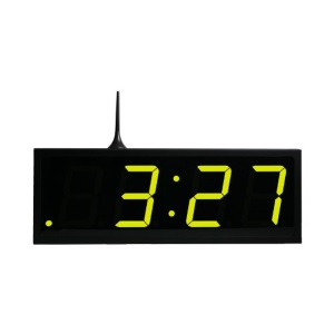 wifi clock 4 digit green